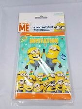 despicable me minions birthday party invitations 32 ct with