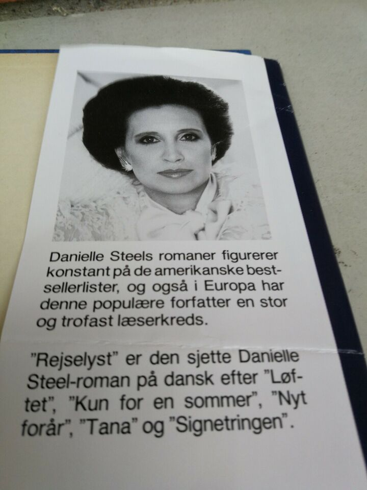 Rejselyst, Danielle Steel, genre: roman