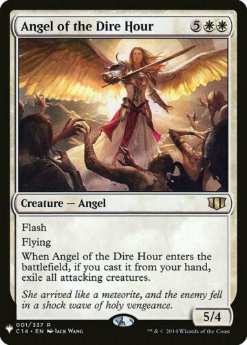 1x Angel of the Dire Hour MTG Mystery Booster NM Magic Regular