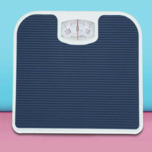 Bathroom Scales Weighing Scale Body Weight Blue Accurate Mechanical Dial US
