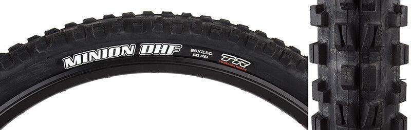 Maxxis Minion DHF DC EXO TR Tire Max Minion Dhf 29x2.5 Bk Fold 60 Dc exo tr