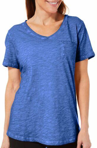 Sunsets and Sweet Tea Womens Coastal Wash Pocket T-Shirt