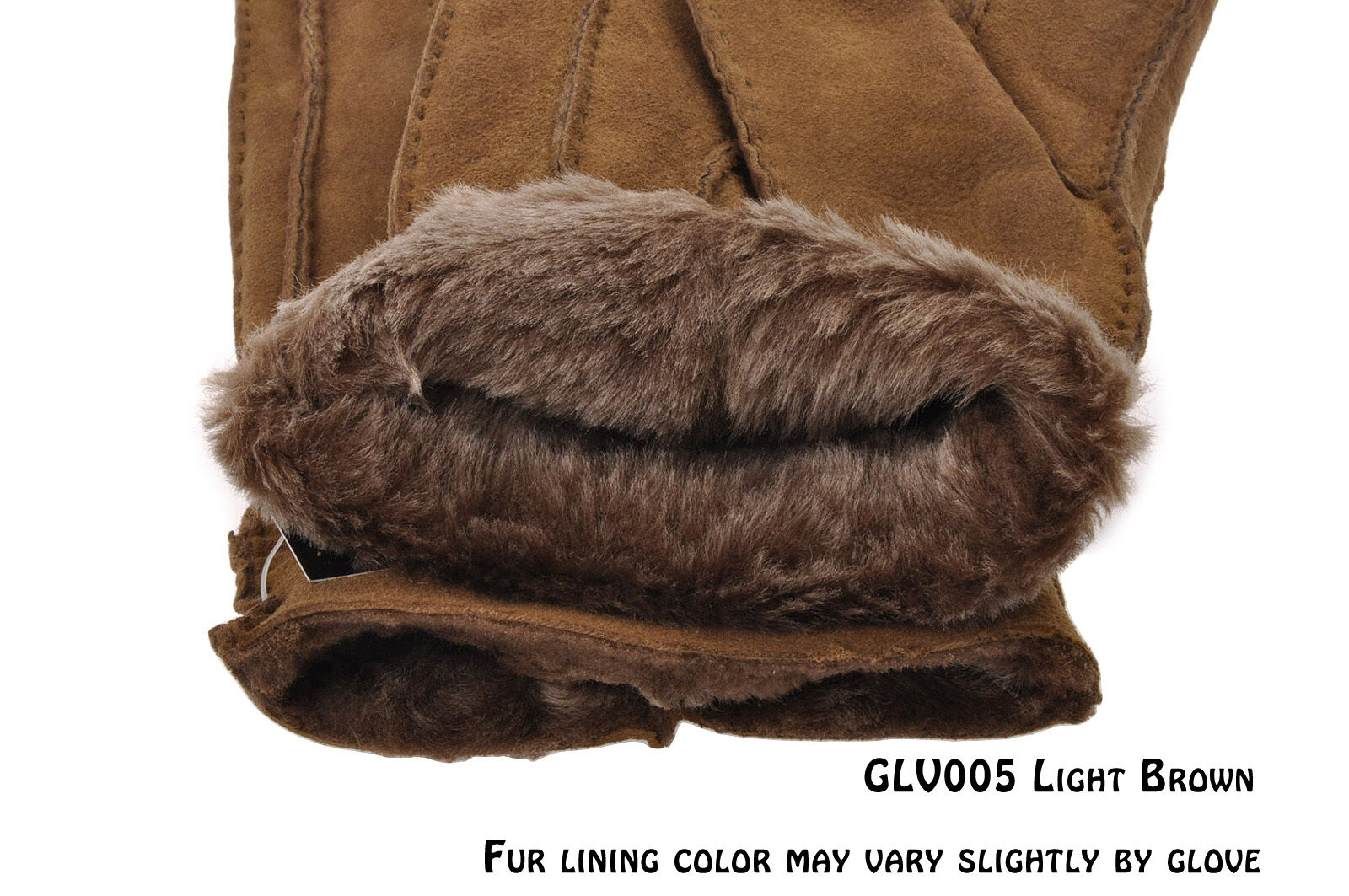 Tanforan Cypress Mens Winter Sheepskin Lambskin Gloves w Fur Lining