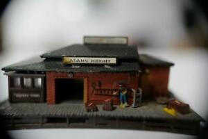 19th-century-rural-034-Adams-Heights-034-freight-station-for-N-gauge-layout-N-American