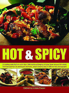 034-AS-NEW-034-Fraser-Linda-The-Ultimate-Hot-and-Spicy-Cookbook-200-of-the-Most-Fie