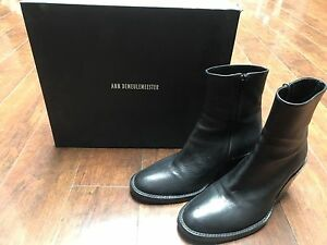 Pre-owned - Leather ankle boots Ann Demeulemeester HhzgarBN