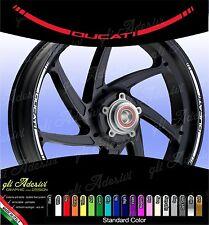 Kit Adesivi Cerchi Moto Ruote DUCATInew