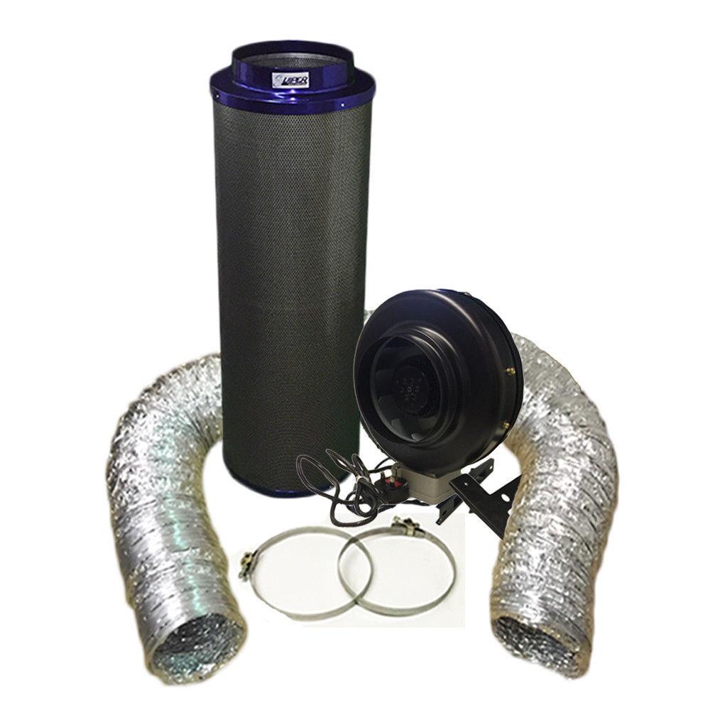 Ventilador de alta potencia de 10  y 10  1000 Kit De Filtro De Cochebono Premium Viper Hydroponics