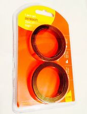 2Pc Self Adhesive Magnetic Tape Sticky Backed Magnet Strip Easy Fix.