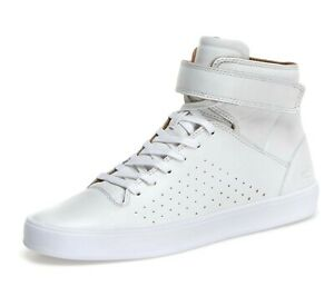 Top Sneaker,White Leather Size