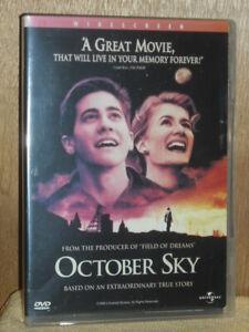October Sky (DVD, 1999, Widescreen)
