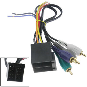 Details about Car Stereo CD Player Wiring Harness Wire Adapter Plug on