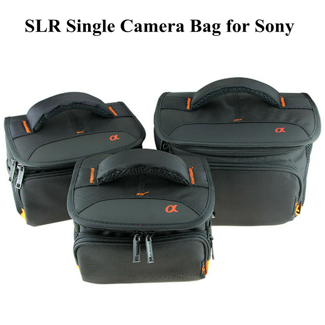 SLR Single Bag Camera Bag for Sony a6000 a6300 a5100 A7M2 with Strap Waterproof
