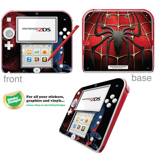 Spiderman Vinyl Skin Sticker for Nintendo 2DS
