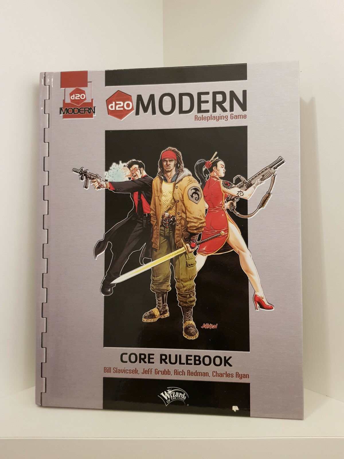 D20 Modern, Core Rulebook, hardcover, D20 system, RPG