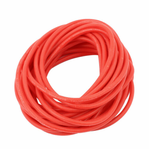 5M 24AWG 20KV elektrisches Kupferkern flexibel Silikon Draht Kabel Rot für RC