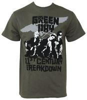Official Green Day - Vandals - Men's Green T-Shirt IMPORT