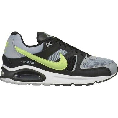 New Men's Nike Air Max Command Shoes (629993 047) Wolf GreyBlack Volt Cool Grey | eBay