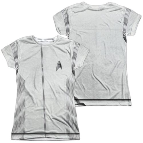 Star Trek Discovery Medical Costume Uniform Outfit Allover Front Back T-shirt