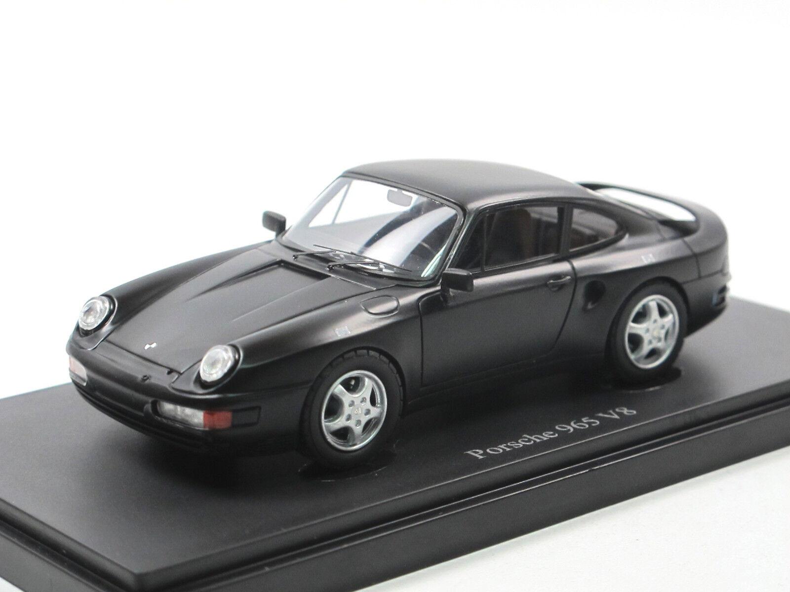 Autocult 06031 1988 porsche 965 v8 prototyp matt schwarz 1   43 neuheit limitiert