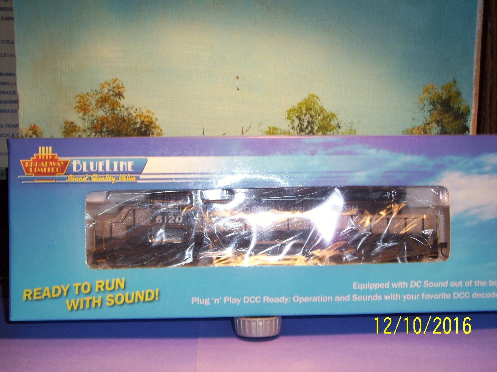 Broadway Limited importaciones Blueline 5277 EMD SD40-2 N & W 6