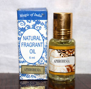 Magic Of India Jasmine Fragrant Oil In Roll On Bottle Pack Of 5 Health & Beauty Natural & Alternative Remedies