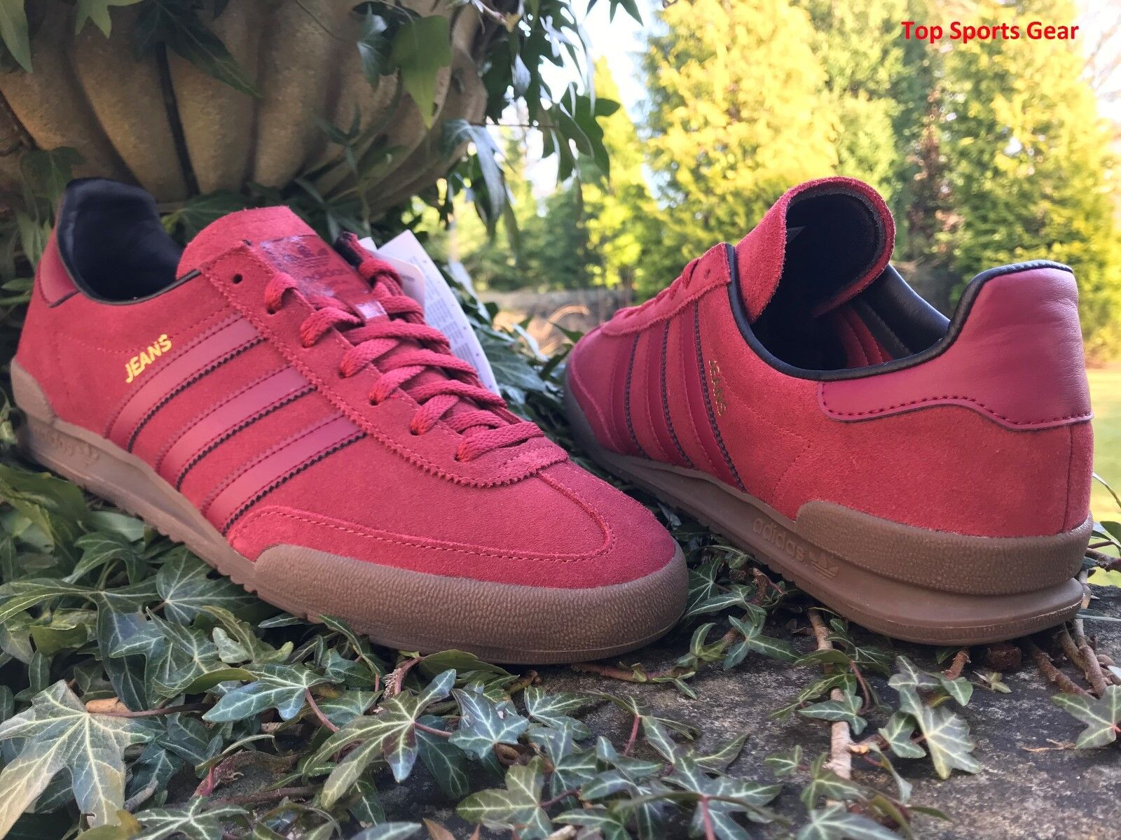 100% genuine united kingdom lower price with adidas Originals Mens Jeans Fashion Trainers Red Sizes UK 9.5 EU 44 Us10