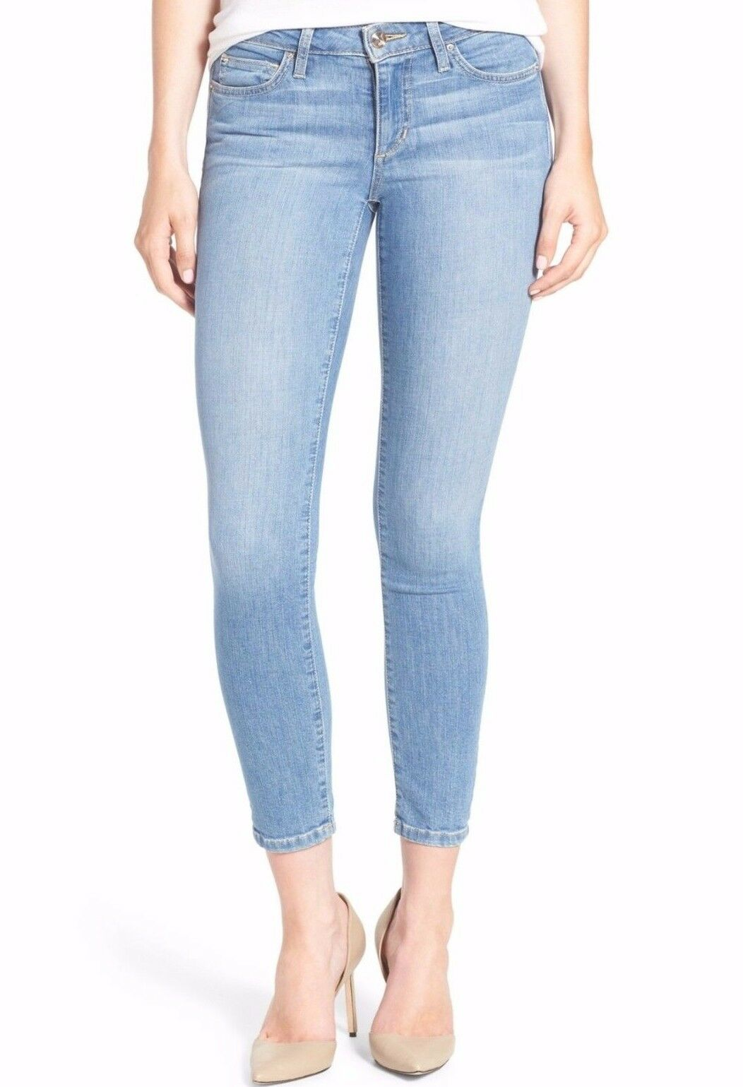 189 NWT JOE'S Sz29 THE VIXEN FLAWLESS SKINNY ANKLE MIDRISE STRETCH JEANS MITZI