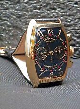 FRANCK MULLER 18K Rose Gold Cintree Curvex Chronograph # 5850 CC Box