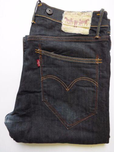 Levi's L30 Strauss Loose Blue Dark 503 Straight Jeans Men's Levh728 Leg W32 rqC0rAv