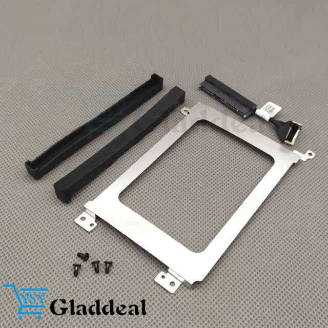 Dell XPS 15 9570 Precision 5530 K0K71 HDD Hard Drive Cable Caddy Rubber Rail