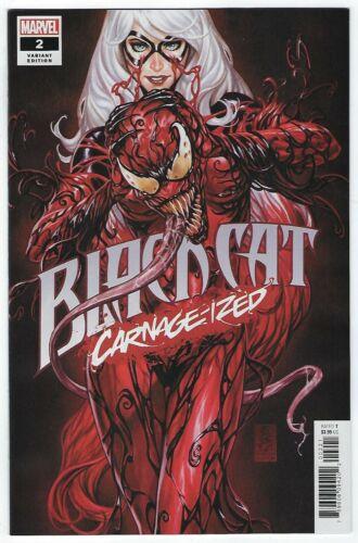 Black Cat # 2 Mark Brooks CARNAGE-IZED Variant NM DC