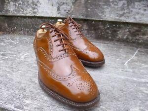 Worn Once Brown Vintage Uk Burwood Tan Brogues 10 – Church wFz84nqq