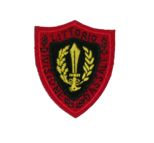 """Italian WW2 sleeve patch for the /""""Littorio Division D/'Assalto/"""""""