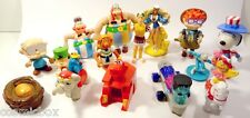 Lot 15 figurines publicitaires Mc DONALD Snoopy Kid Paddle Barbie Asterix figure