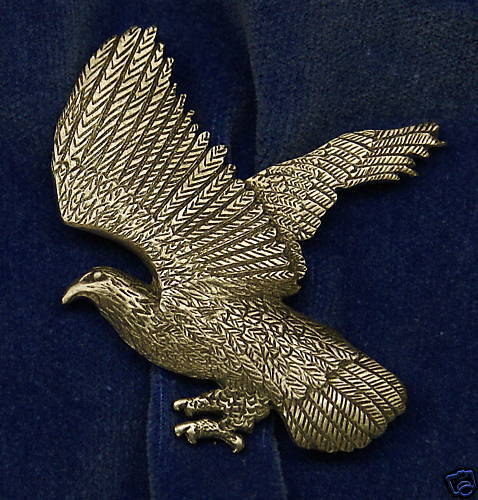 Empire Pewter Flying Eagle Pewter Pin