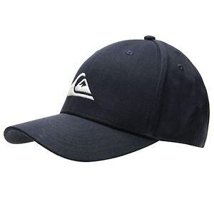 f04b094549c NEW QUIKSILVER MENS DECADES NAVY 6 PANEL SNAPBACK BASEBALL CAP HAT ...