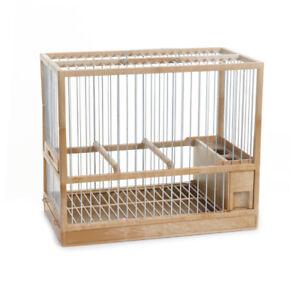 cage pour oiseaux c2 tiroir et grille couleur bois sauvage et chardonnerets ebay. Black Bedroom Furniture Sets. Home Design Ideas