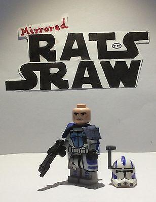 Dark Gray Custom FLAME TROOPER BACKPACK for Lego Star Wars Minifigures