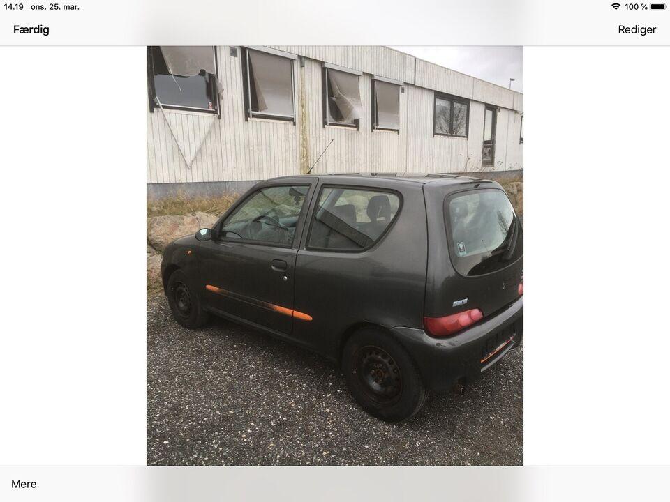 Fiat Seicento, 1,1 Sporting, Benzin