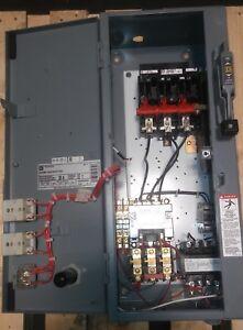 8539SDA53V02H30S SQUARE D AC COMBINATION MOTOR STARTER NEMA SIZE 2