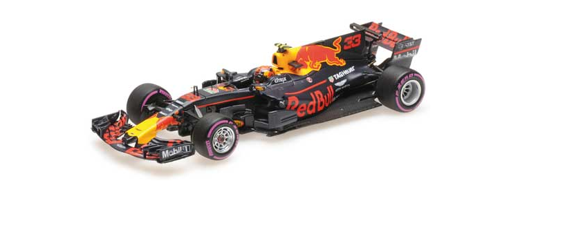 Rosso Bull Racing Winner GP Mexican 2017 M.Verstappen 1/43 417171833 Minichamps