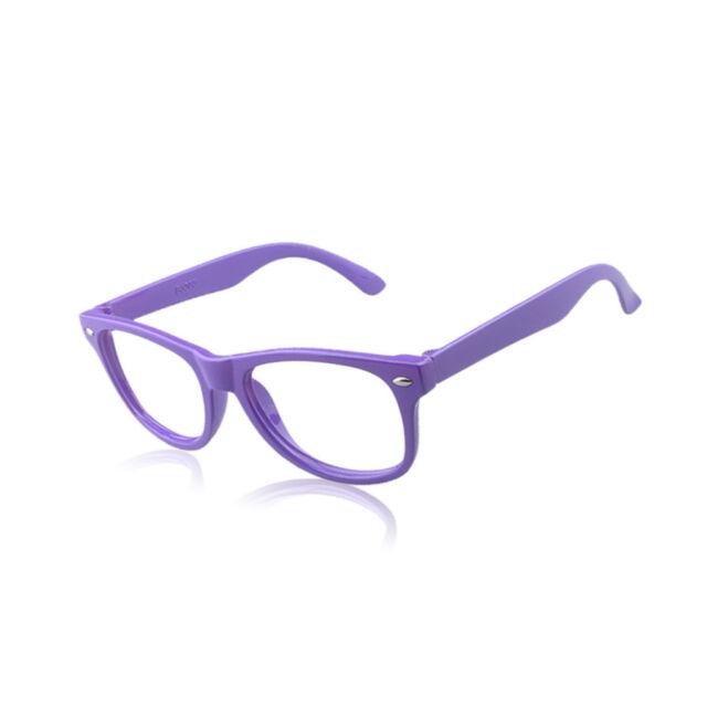 Restore Colorful Glasses Boys Girls Kids Plastic Empty Frame ...