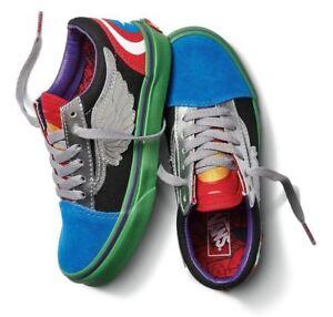 Details about Vans Marvel Avengers Multi Old Skool Mens Shoes