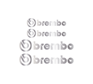 4-x-SILVER-BREMBO-Brake-Caliper-Decals-Stickers-FRONT-amp-REAR