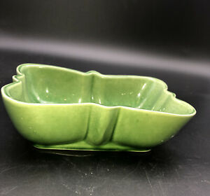 Shawnee USA 151 Vintage Butterfly Shaped Pottery Planter Green