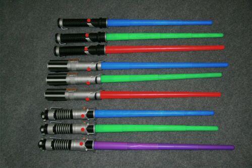 Star Wars Skywalker Light Saber Non Powered Red Purple Blue Green Retractable 32