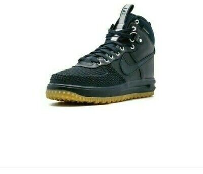 Nike $145 Lunar Force 1 Duckboot gs Youth Boy's Girl's Boots 882842 Size 5y Strong Packing