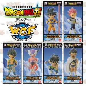 vol.3 WCF 6 type set Dragon Ball Super Broly World Collectable Figure Movie ver