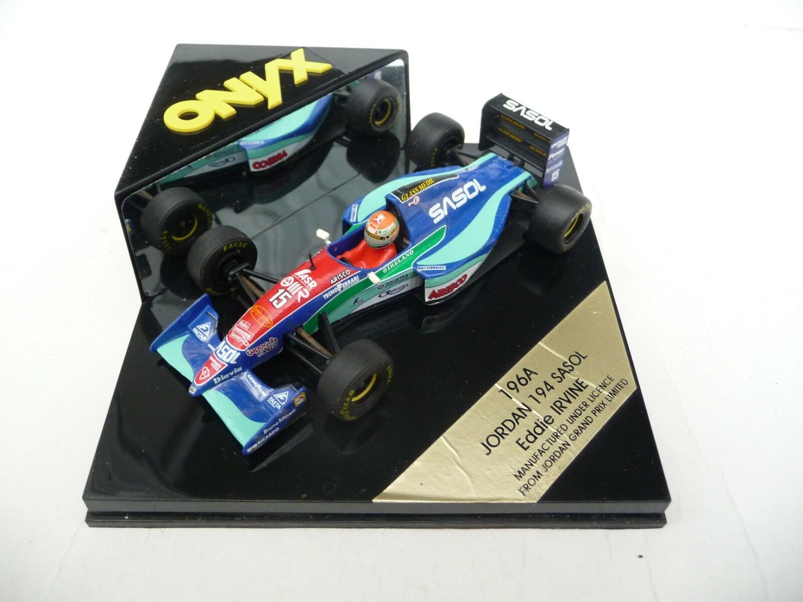 Onyx 1 43 Jordan 194 Sasol Eddie Irvine ONYX196A